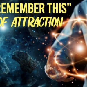 The Most Important Thing About The Law Of Attraction
