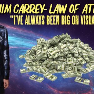 Jim Carrey - Visualizing & The Law Of Attraction! (law of attraction motivation!)