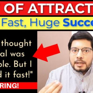 """MANIFESTATION #228: 🔥 Life-Changing """"IMPOSSIBLE"""" Goal Achieved FAST with Law of Attraction 