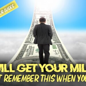 Don't Forget This On Your ROAD TO MILLIONS (most forget)