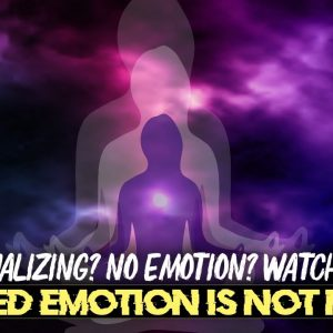 Elevated EMOTION is NOT Needed for MANIFESTING (law of attraction)