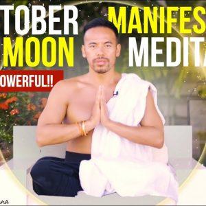 Full Moon Manifestation Meditation | Hunters/Blood Full Moon Extremely Powerful!!