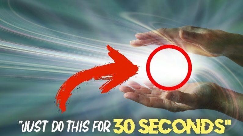 Remove Doubt, Raise Your Vibration in 30 seconds or less (new technique)