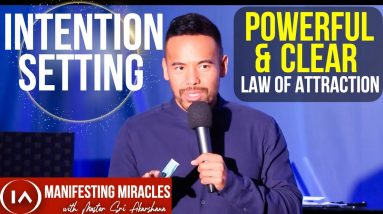 Clear & Powerful Intention Setting | Nothing Happens by Accident [Law of Attraction]